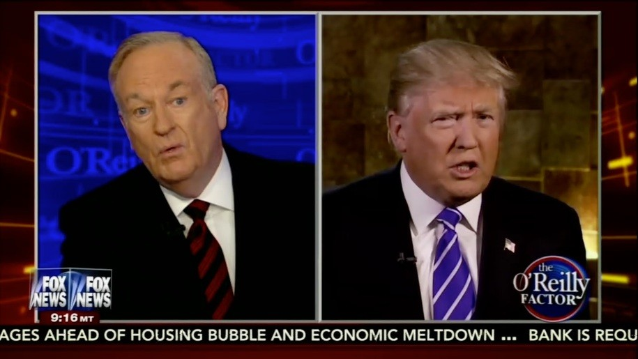 O'Reilly and Trump are BFFs